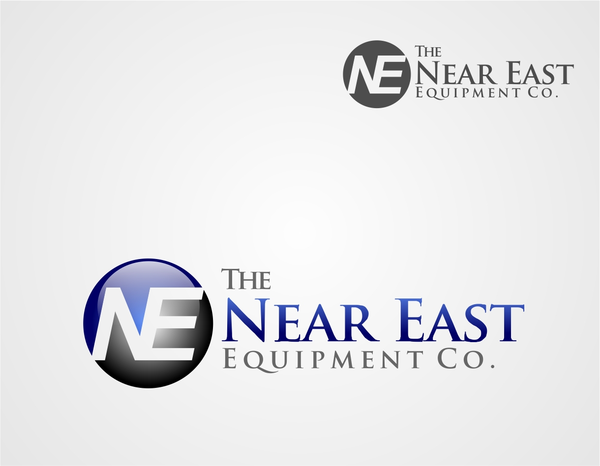Logo Design by Reivan Ferdinan - Entry No. 164 in the Logo Design Contest Imaginative Logo Design for The Near East Equipment Co..