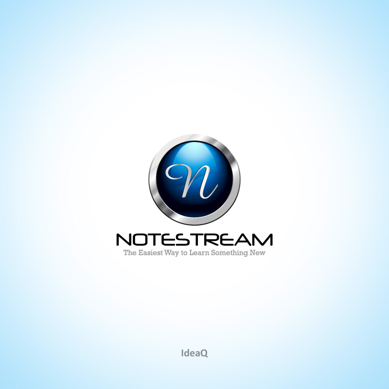 Logo Design by Private User - Entry No. 78 in the Logo Design Contest Imaginative Logo Design for NoteStream.