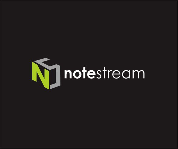 Logo Design by ronny - Entry No. 79 in the Logo Design Contest Imaginative Logo Design for NoteStream.