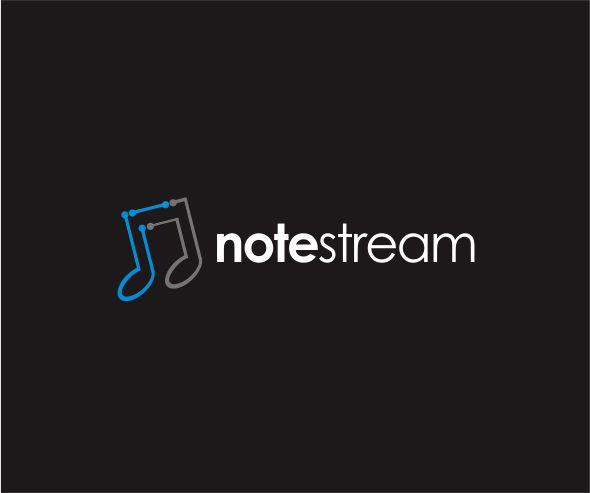 Logo Design by ronny - Entry No. 80 in the Logo Design Contest Imaginative Logo Design for NoteStream.