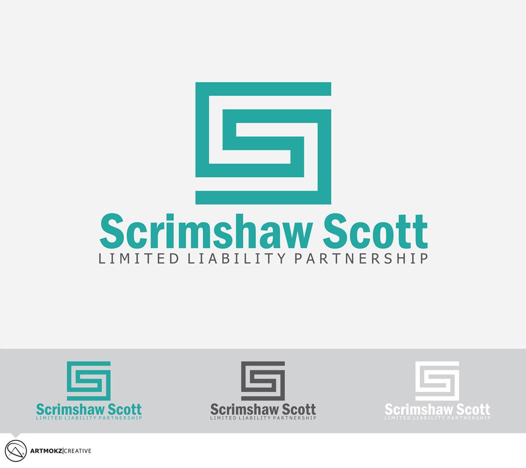 Logo Design by Quirejun Akol - Entry No. 16 in the Logo Design Contest Striking Logo Design for law firm SCRIMSHAW  SCOTT  LLP.