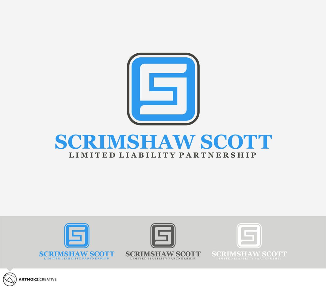 Logo Design by Quirejun Akol - Entry No. 23 in the Logo Design Contest Striking Logo Design for law firm SCRIMSHAW  SCOTT  LLP.