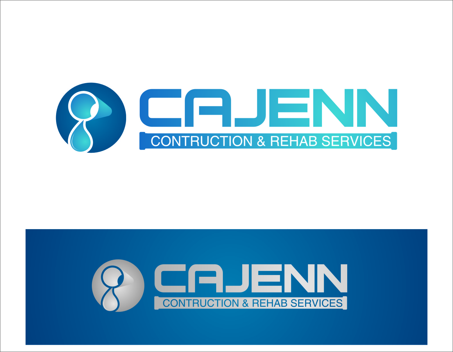 Logo Design by Ngepet_art - Entry No. 174 in the Logo Design Contest New Logo Design for CaJenn Construction & Rehab Services.