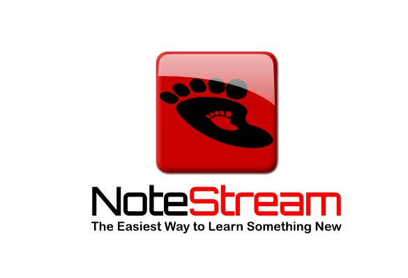 Logo Design by Ismail Adhi Wibowo - Entry No. 92 in the Logo Design Contest Imaginative Logo Design for NoteStream.