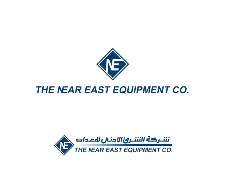 Logo Design by Juan_Kata - Entry No. 201 in the Logo Design Contest Imaginative Logo Design for The Near East Equipment Co..