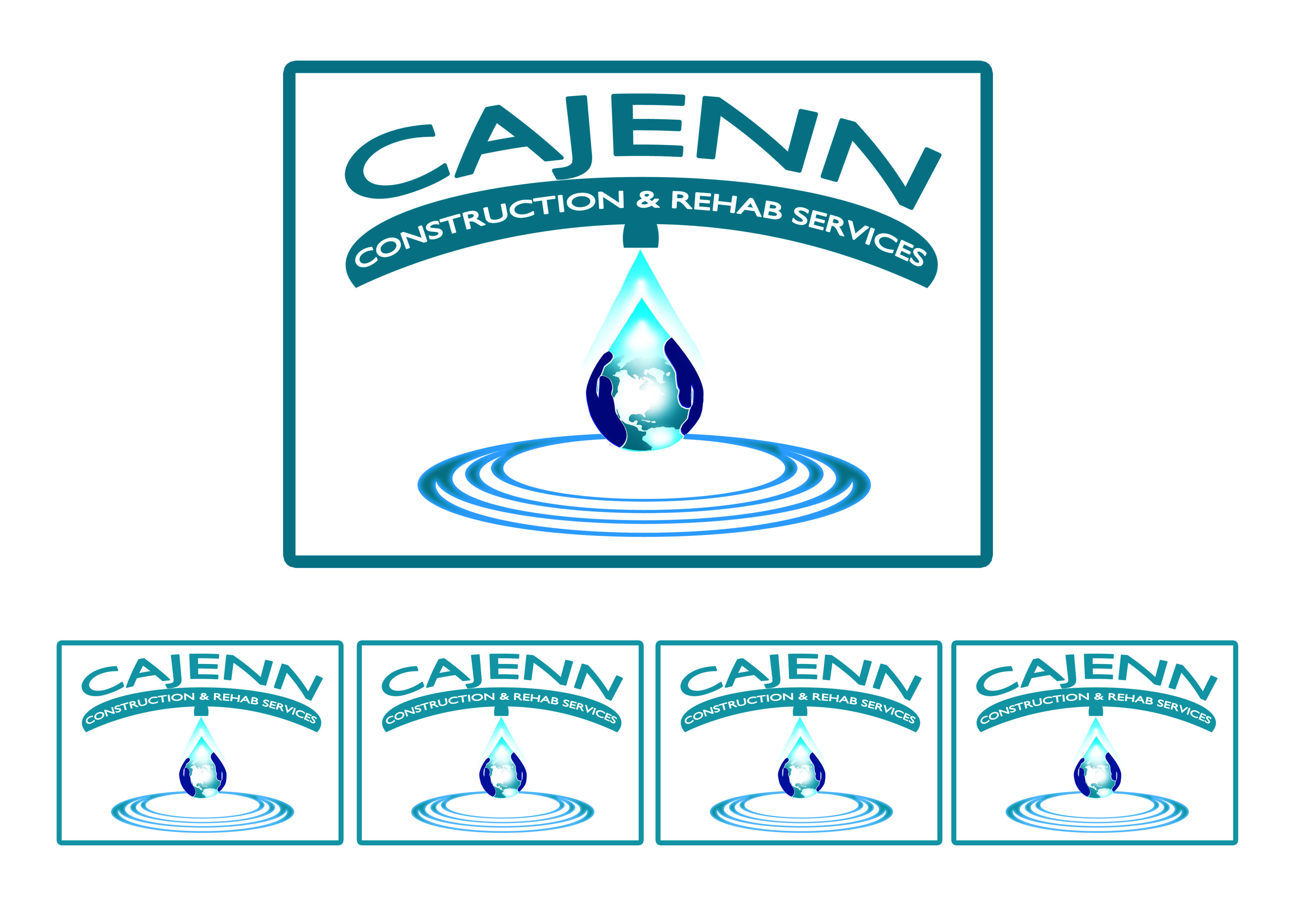 Logo Design by Alan Esclamado - Entry No. 186 in the Logo Design Contest New Logo Design for CaJenn Construction & Rehab Services.