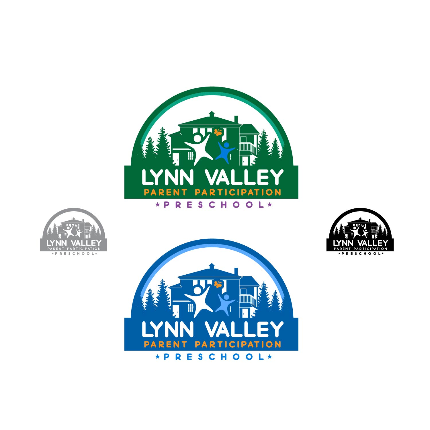 Logo Design by lagalag - Entry No. 61 in the Logo Design Contest New Logo Design for Lynn Valley Parent Participation Preschool.