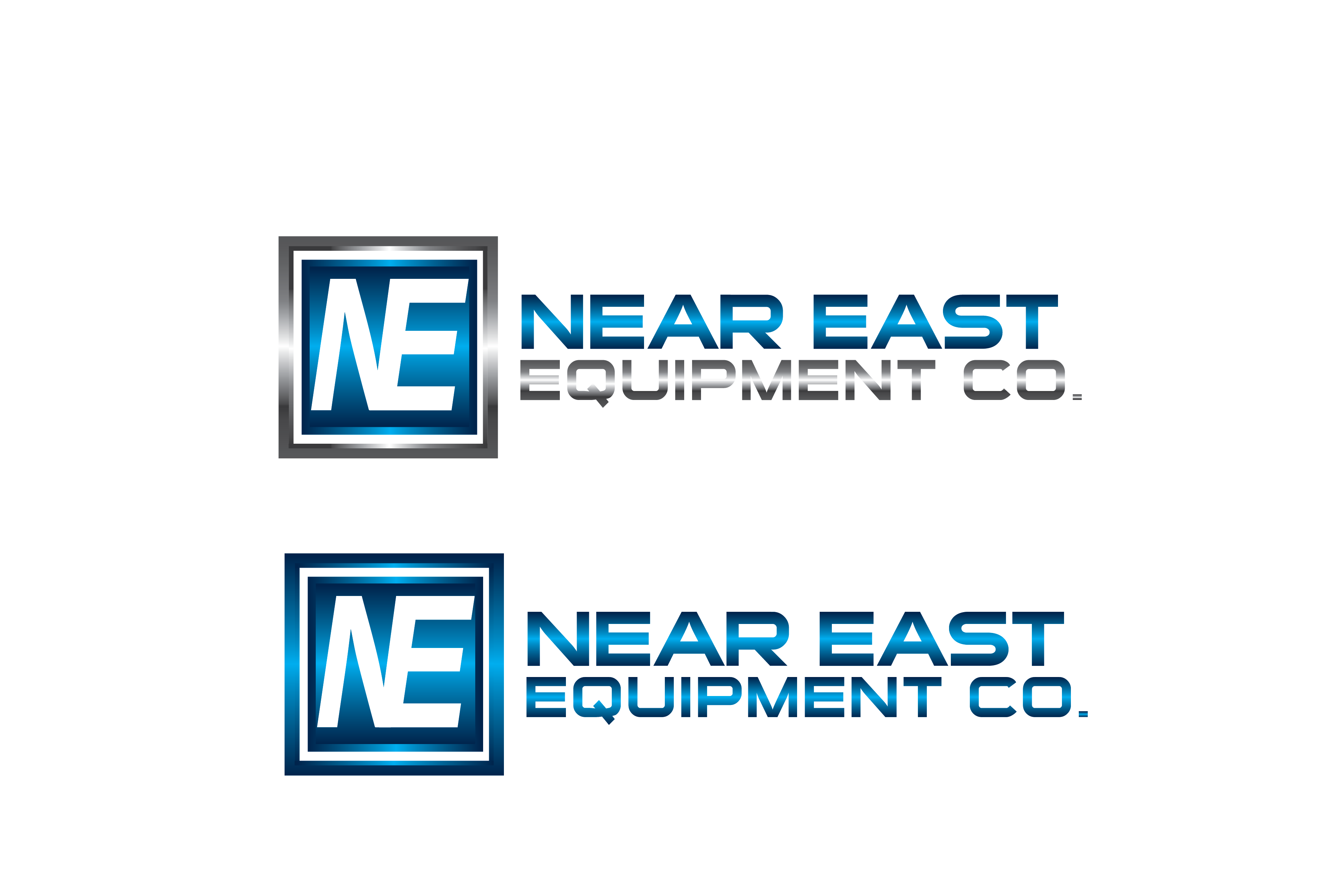 Logo Design by Private User - Entry No. 213 in the Logo Design Contest Imaginative Logo Design for The Near East Equipment Co..