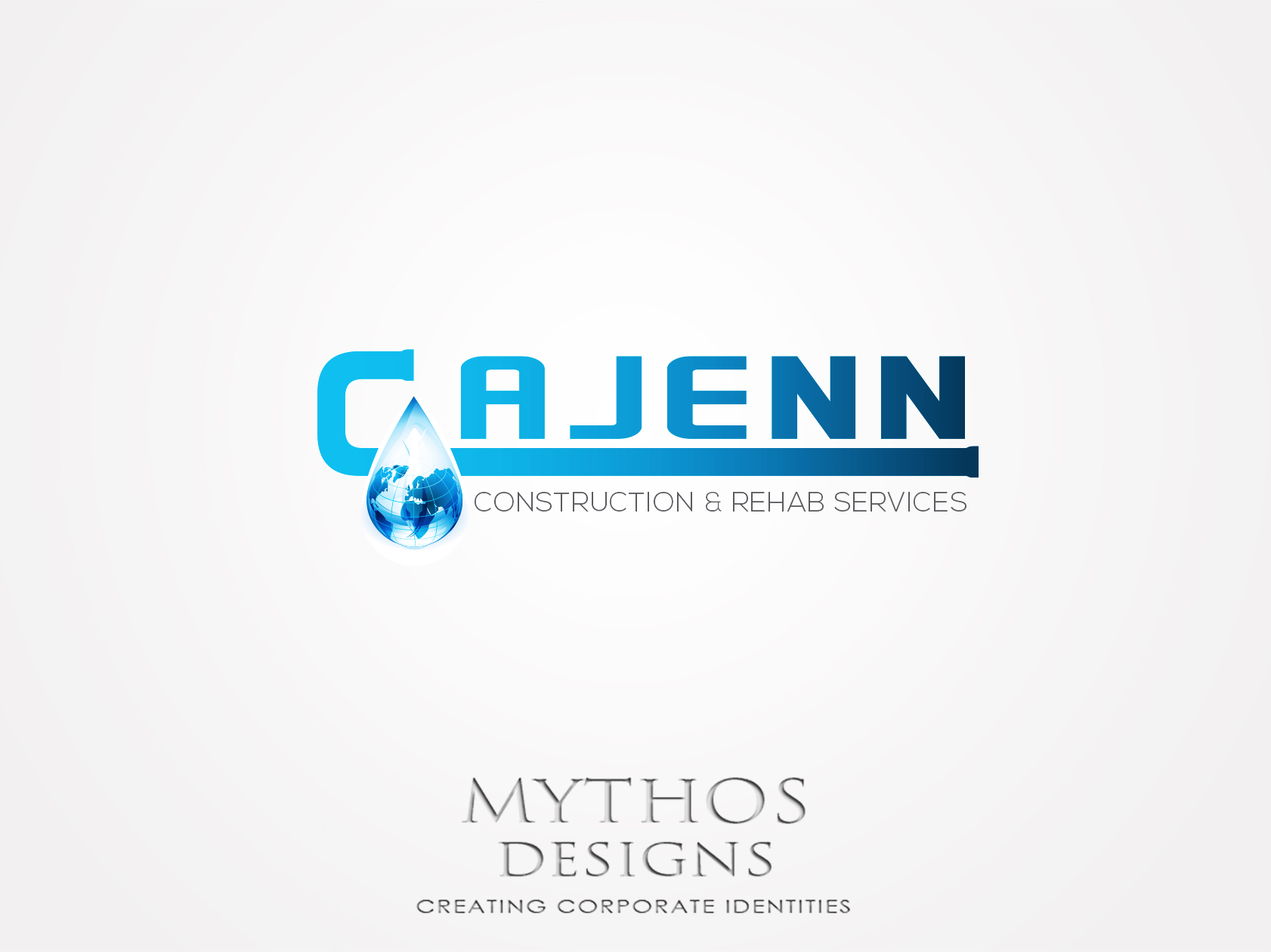 Logo Design by Mythos Designs - Entry No. 188 in the Logo Design Contest New Logo Design for CaJenn Construction & Rehab Services.