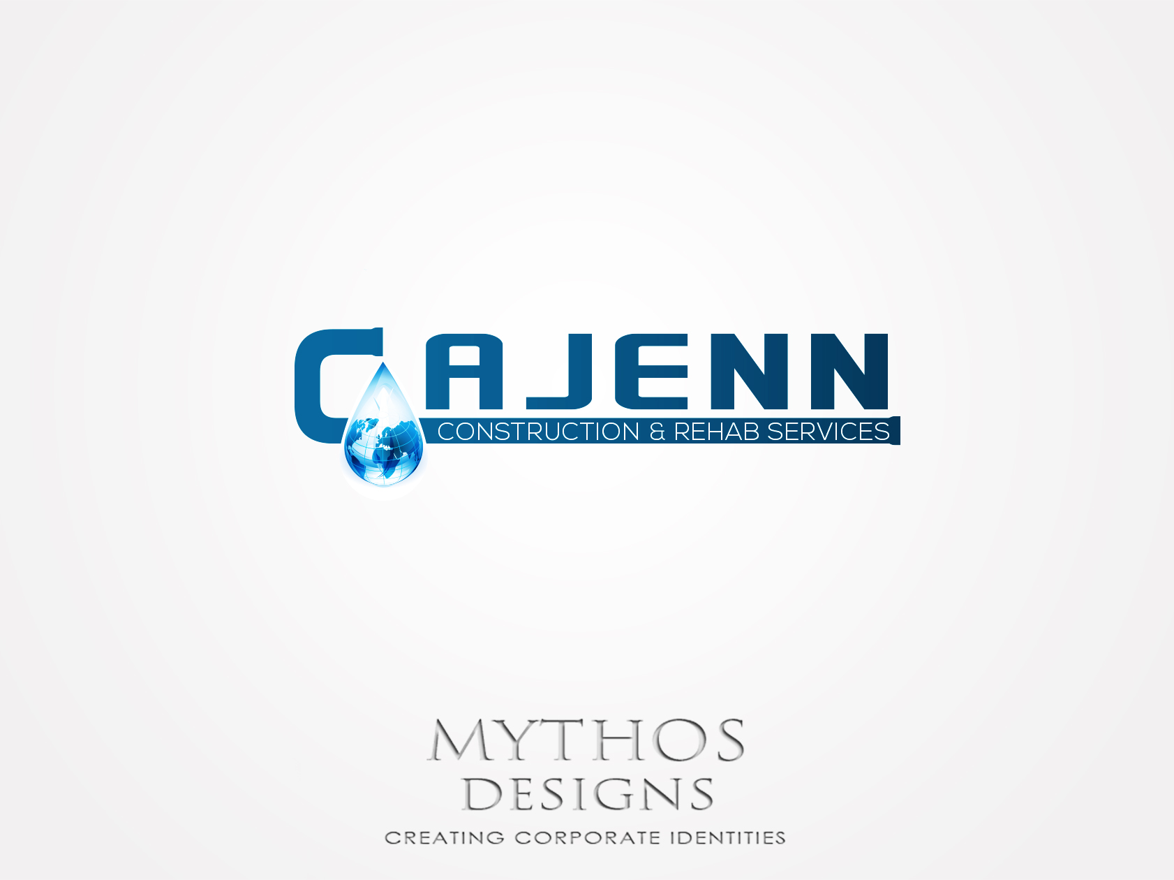 Logo Design by Mythos Designs - Entry No. 189 in the Logo Design Contest New Logo Design for CaJenn Construction & Rehab Services.