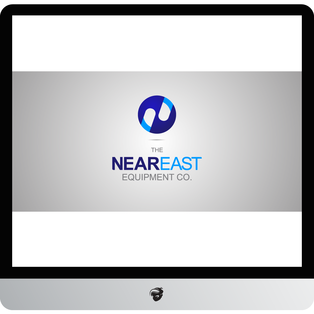 Logo Design by zesthar - Entry No. 217 in the Logo Design Contest Imaginative Logo Design for The Near East Equipment Co..
