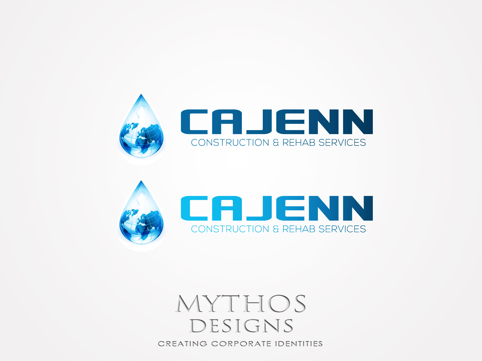 Logo Design by Mythos Designs - Entry No. 191 in the Logo Design Contest New Logo Design for CaJenn Construction & Rehab Services.