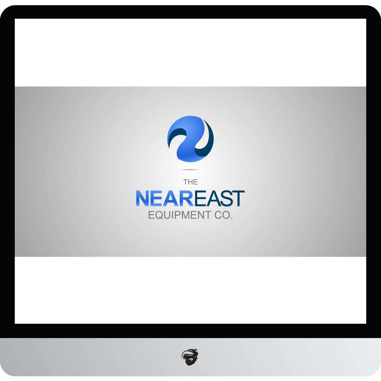 Logo Design by zesthar - Entry No. 218 in the Logo Design Contest Imaginative Logo Design for The Near East Equipment Co..