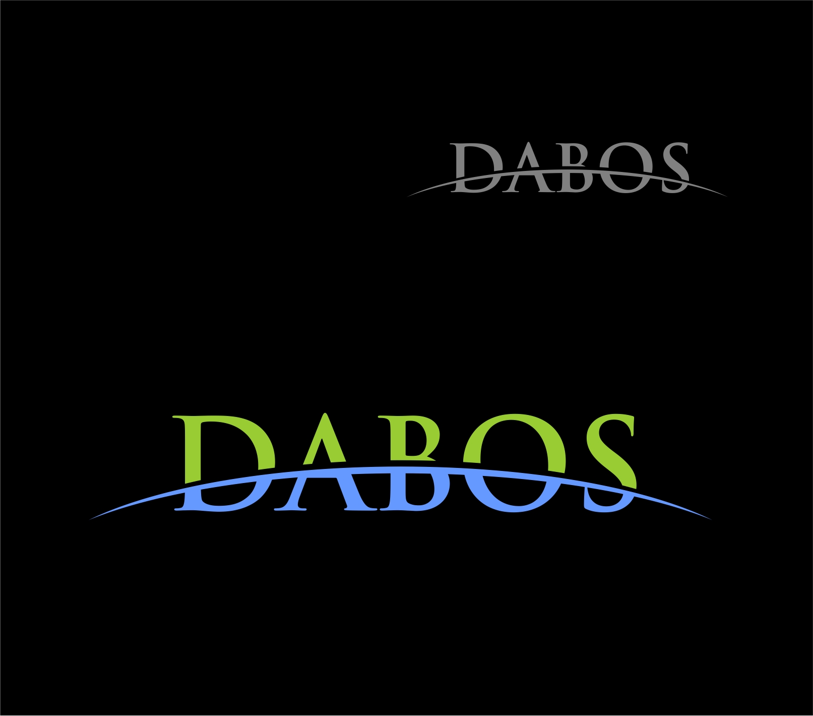 Logo Design by Reivan Ferdinan - Entry No. 73 in the Logo Design Contest Imaginative Logo Design for DABOS, Limited Liability Company.