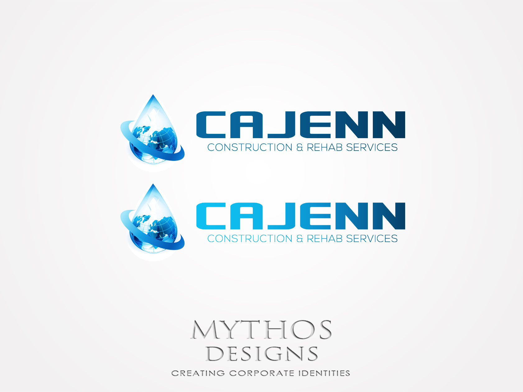 Logo Design by Mythos Designs - Entry No. 192 in the Logo Design Contest New Logo Design for CaJenn Construction & Rehab Services.