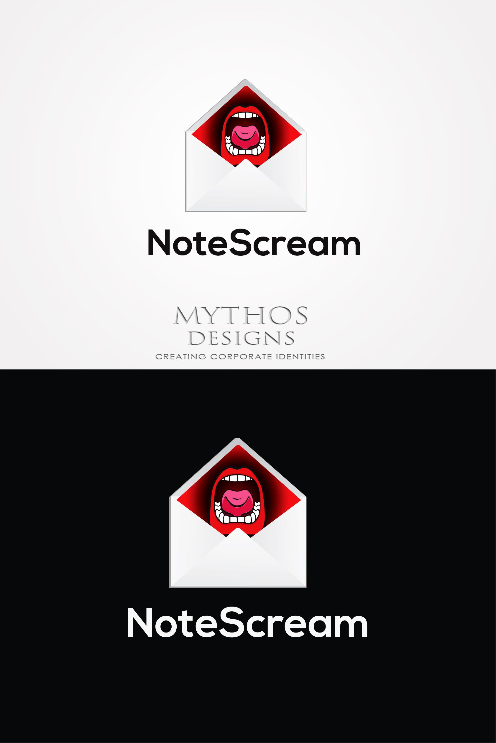 Logo Design by Mythos Designs - Entry No. 95 in the Logo Design Contest Imaginative Logo Design for NoteStream.