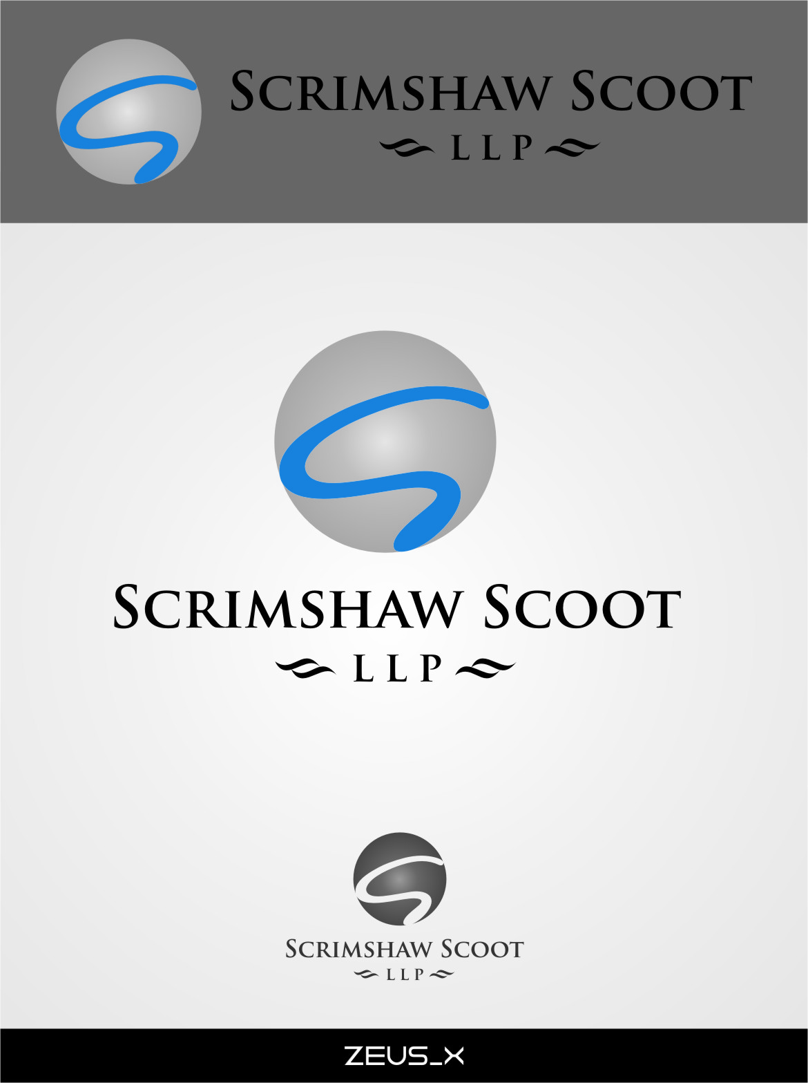 Logo Design by Ngepet_art - Entry No. 32 in the Logo Design Contest Striking Logo Design for law firm SCRIMSHAW  SCOTT  LLP.
