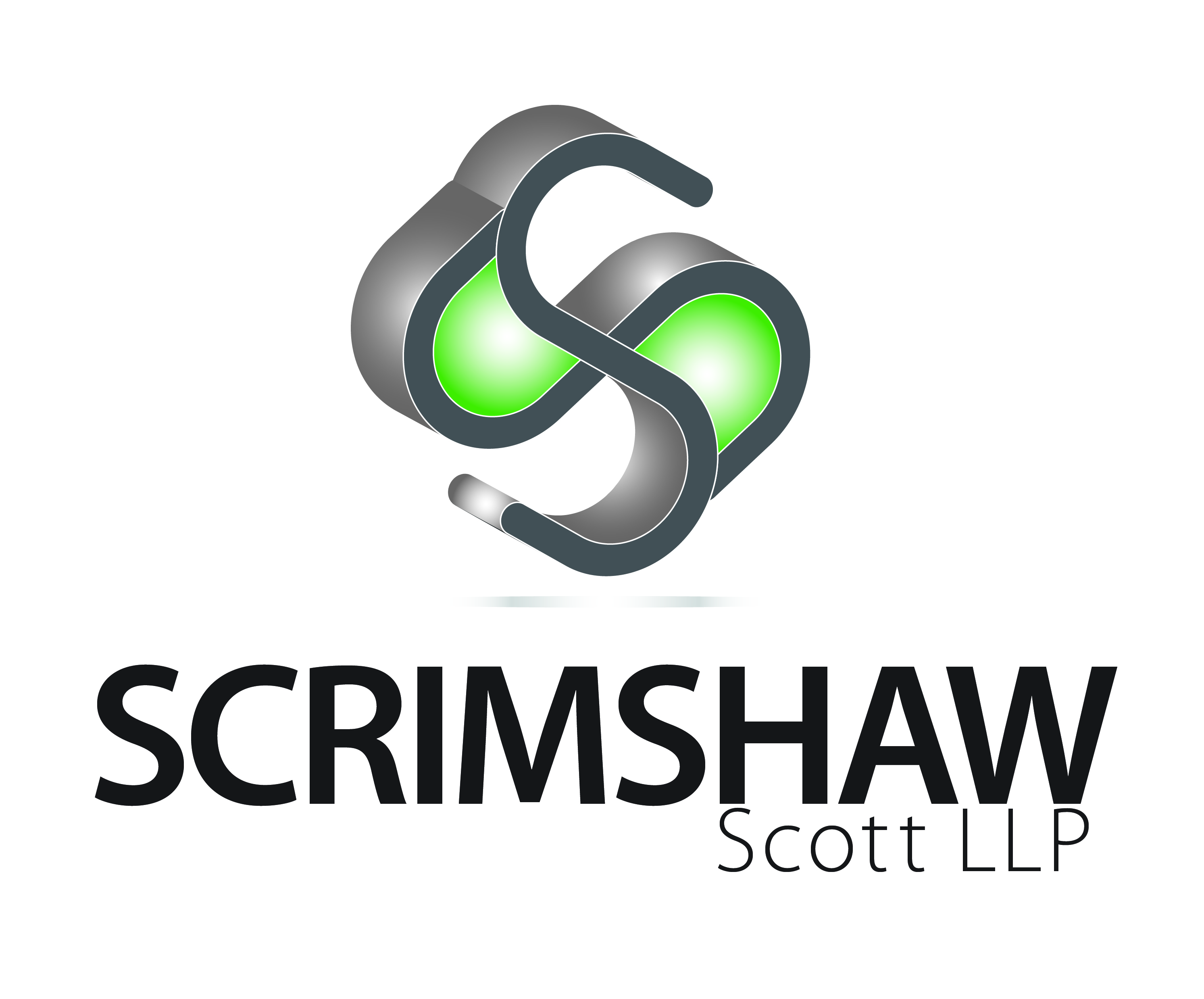 Logo Design by Waseem Haider - Entry No. 34 in the Logo Design Contest Striking Logo Design for law firm SCRIMSHAW  SCOTT  LLP.