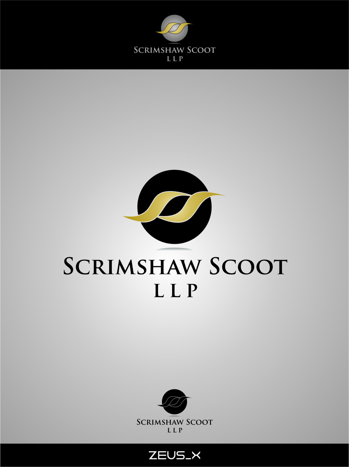 Logo Design by RasYa Muhammad Athaya - Entry No. 35 in the Logo Design Contest Striking Logo Design for law firm SCRIMSHAW  SCOTT  LLP.