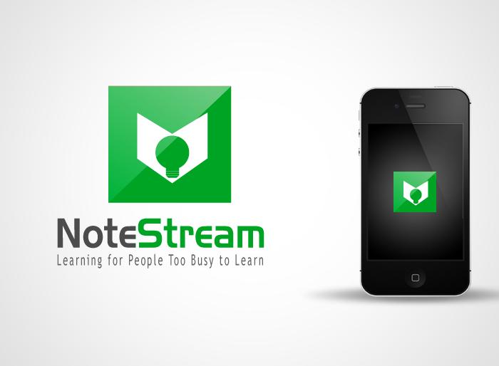Logo Design by Jan Chua - Entry No. 98 in the Logo Design Contest Imaginative Logo Design for NoteStream.