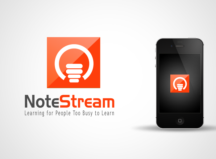 Logo Design by Jan Chua - Entry No. 99 in the Logo Design Contest Imaginative Logo Design for NoteStream.