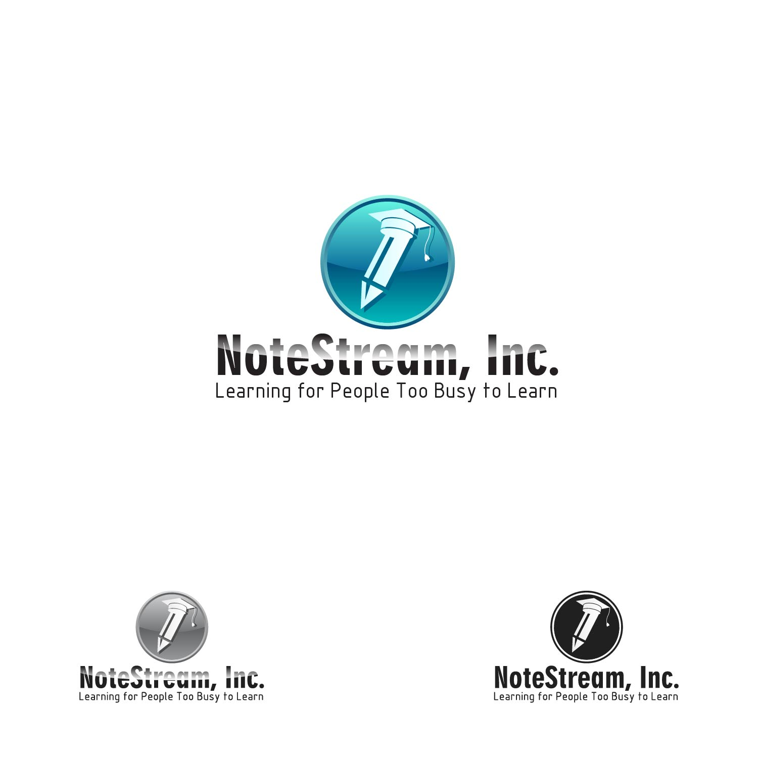 Logo Design by lagalag - Entry No. 101 in the Logo Design Contest Imaginative Logo Design for NoteStream.