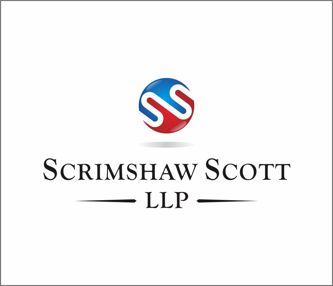 Logo Design by Armada Jamaluddin - Entry No. 38 in the Logo Design Contest Striking Logo Design for law firm SCRIMSHAW  SCOTT  LLP.