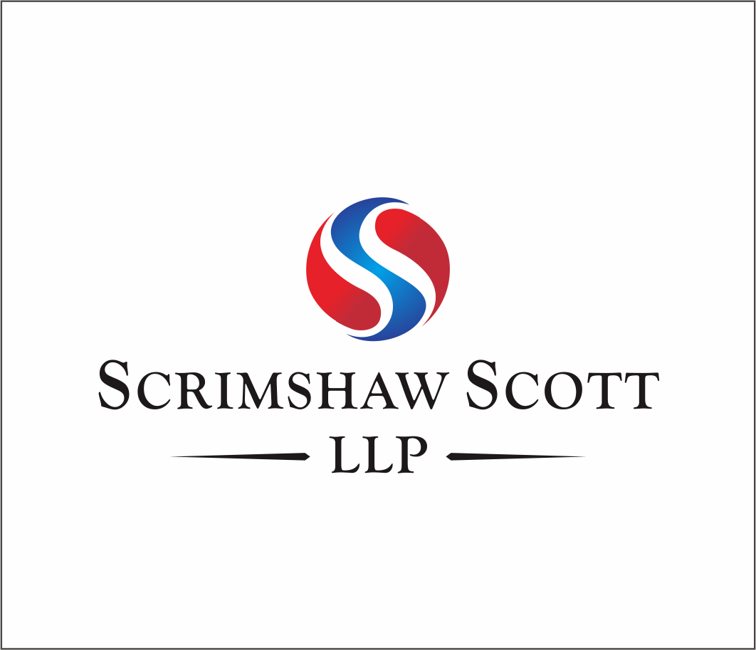 Logo Design by Armada Jamaluddin - Entry No. 40 in the Logo Design Contest Striking Logo Design for law firm SCRIMSHAW  SCOTT  LLP.