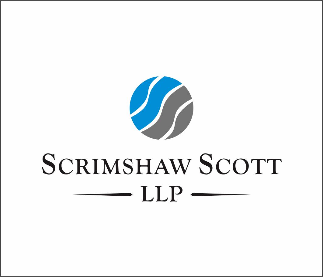 Logo Design by Armada Jamaluddin - Entry No. 41 in the Logo Design Contest Striking Logo Design for law firm SCRIMSHAW  SCOTT  LLP.