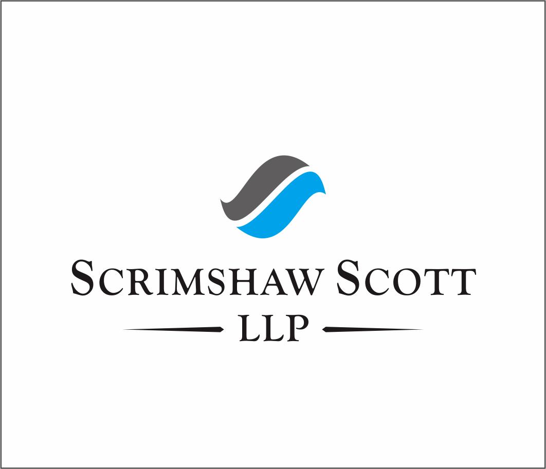 Logo Design by Armada Jamaluddin - Entry No. 44 in the Logo Design Contest Striking Logo Design for law firm SCRIMSHAW  SCOTT  LLP.
