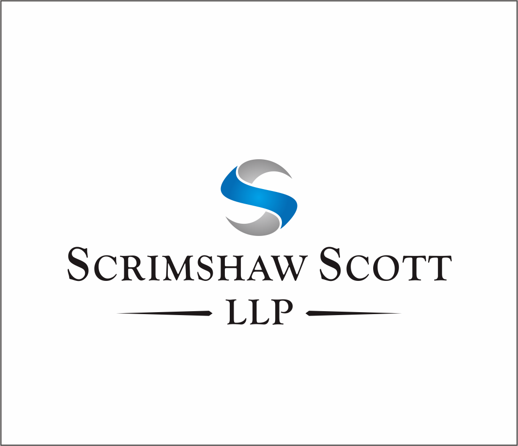 Logo Design by Armada Jamaluddin - Entry No. 45 in the Logo Design Contest Striking Logo Design for law firm SCRIMSHAW  SCOTT  LLP.