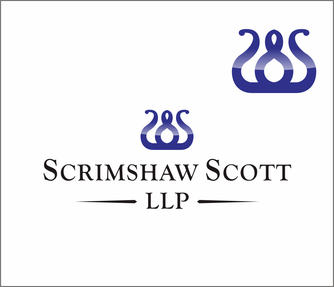 Logo Design by Armada Jamaluddin - Entry No. 46 in the Logo Design Contest Striking Logo Design for law firm SCRIMSHAW  SCOTT  LLP.
