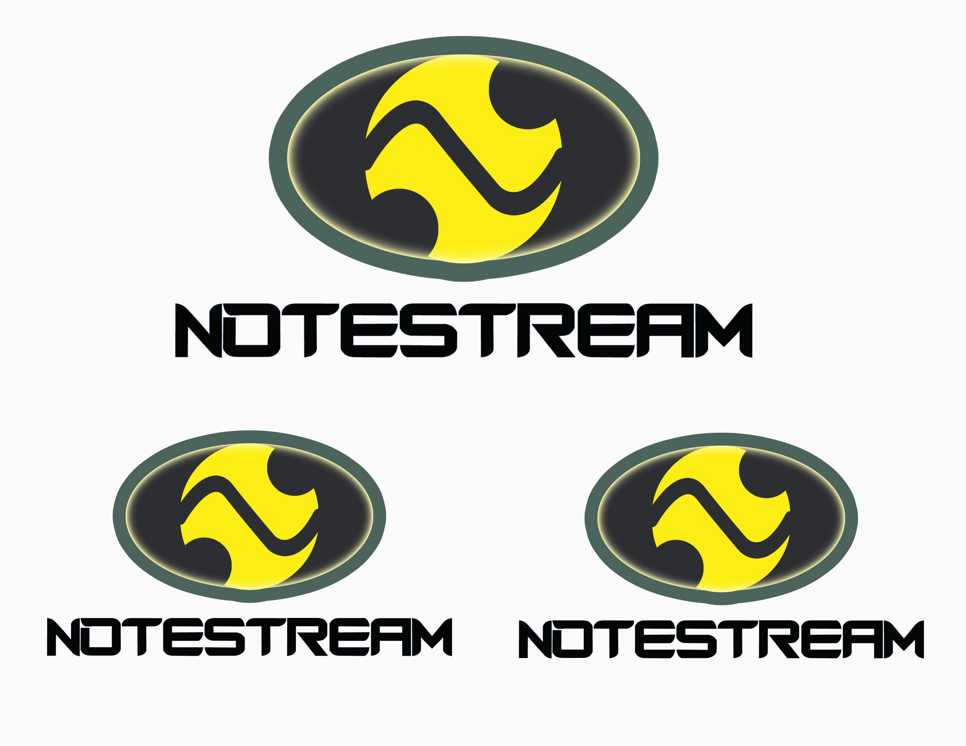 Logo Design by Alan Esclamado - Entry No. 114 in the Logo Design Contest Imaginative Logo Design for NoteStream.