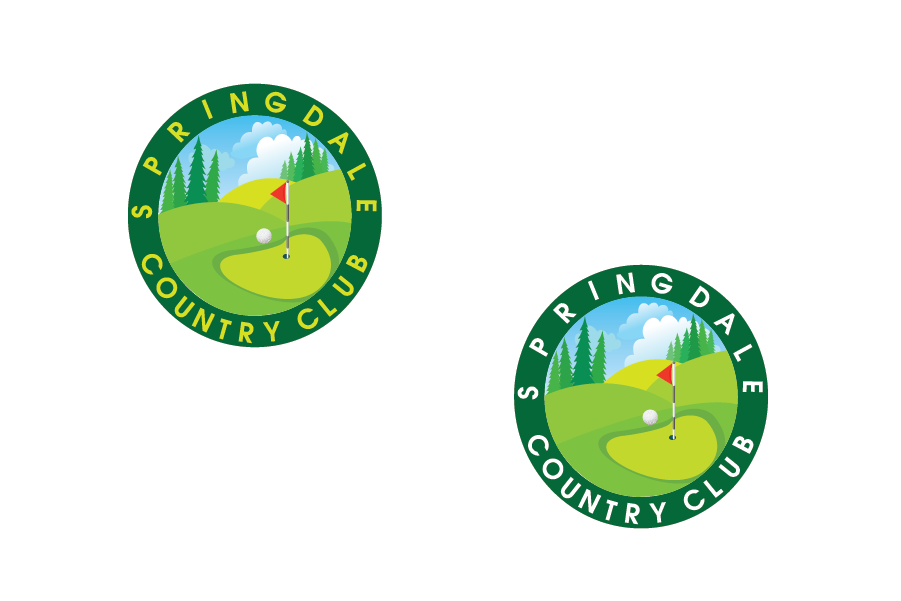 Logo Design by Private User - Entry No. 6 in the Logo Design Contest Unique Logo Design Wanted for Springdale Country Club.