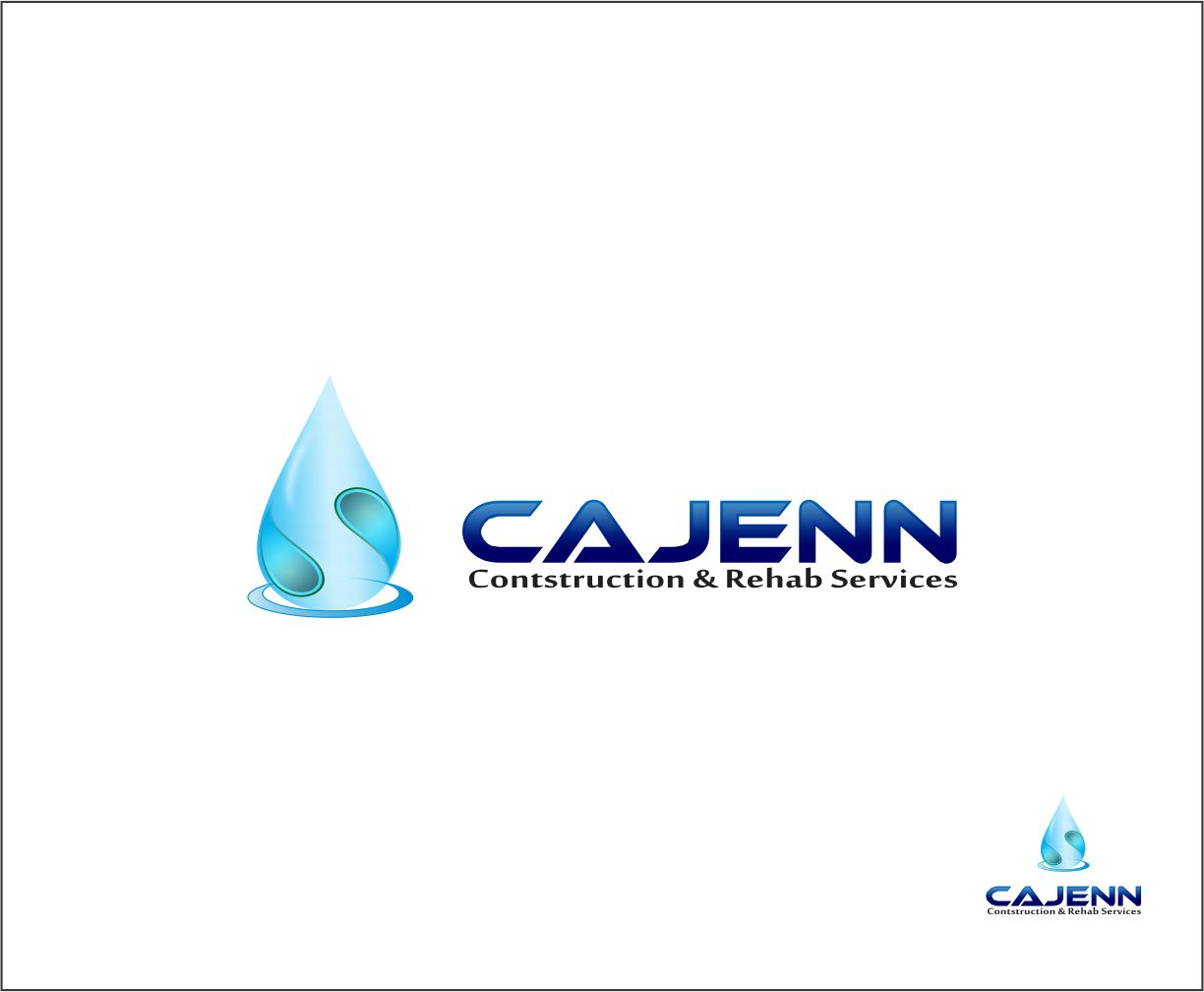 Logo Design by Agus Martoyo - Entry No. 204 in the Logo Design Contest New Logo Design for CaJenn Construction & Rehab Services.