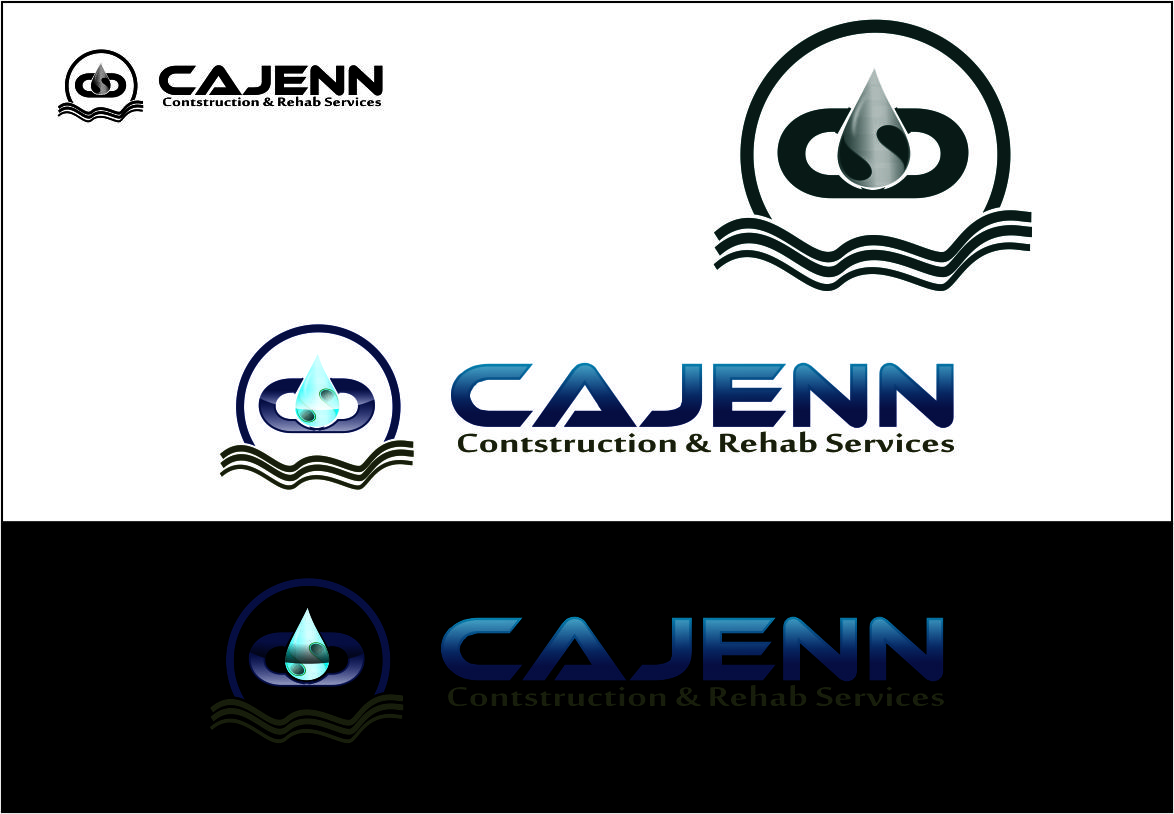 Logo Design by Agus Martoyo - Entry No. 205 in the Logo Design Contest New Logo Design for CaJenn Construction & Rehab Services.