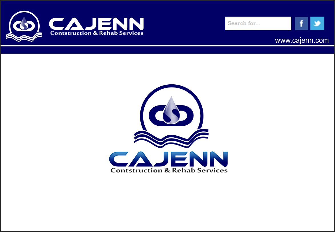 Logo Design by Agus Martoyo - Entry No. 207 in the Logo Design Contest New Logo Design for CaJenn Construction & Rehab Services.