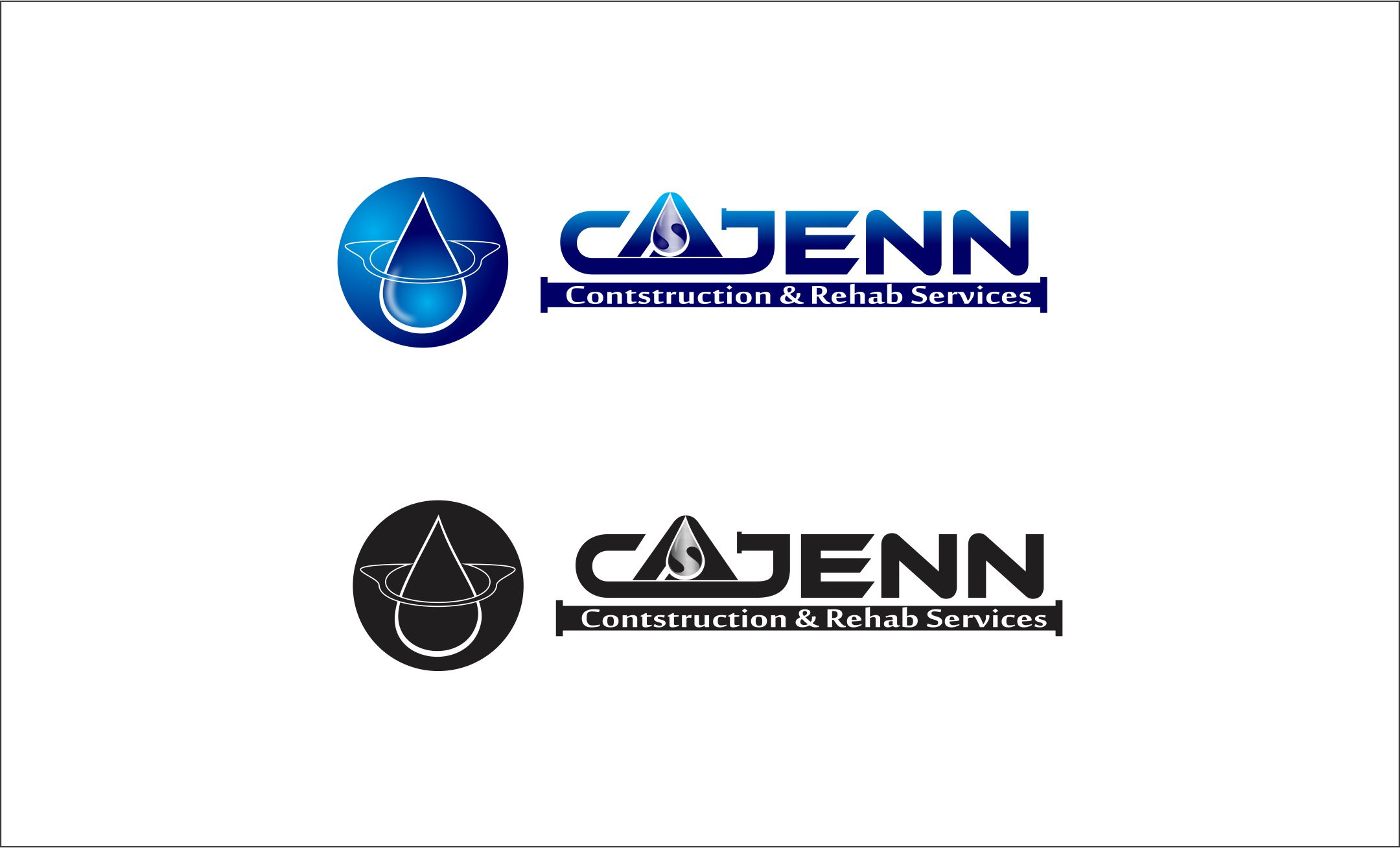 Logo Design by Agus Martoyo - Entry No. 210 in the Logo Design Contest New Logo Design for CaJenn Construction & Rehab Services.