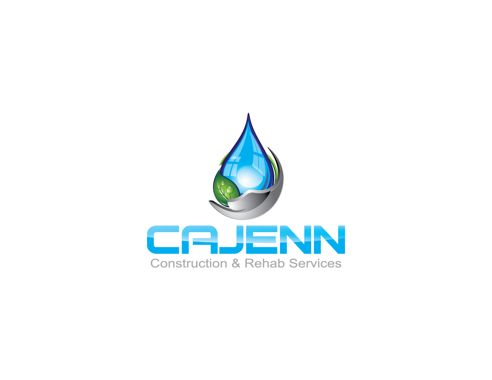 Logo Design by Yansen Yansen - Entry No. 217 in the Logo Design Contest New Logo Design for CaJenn Construction & Rehab Services.