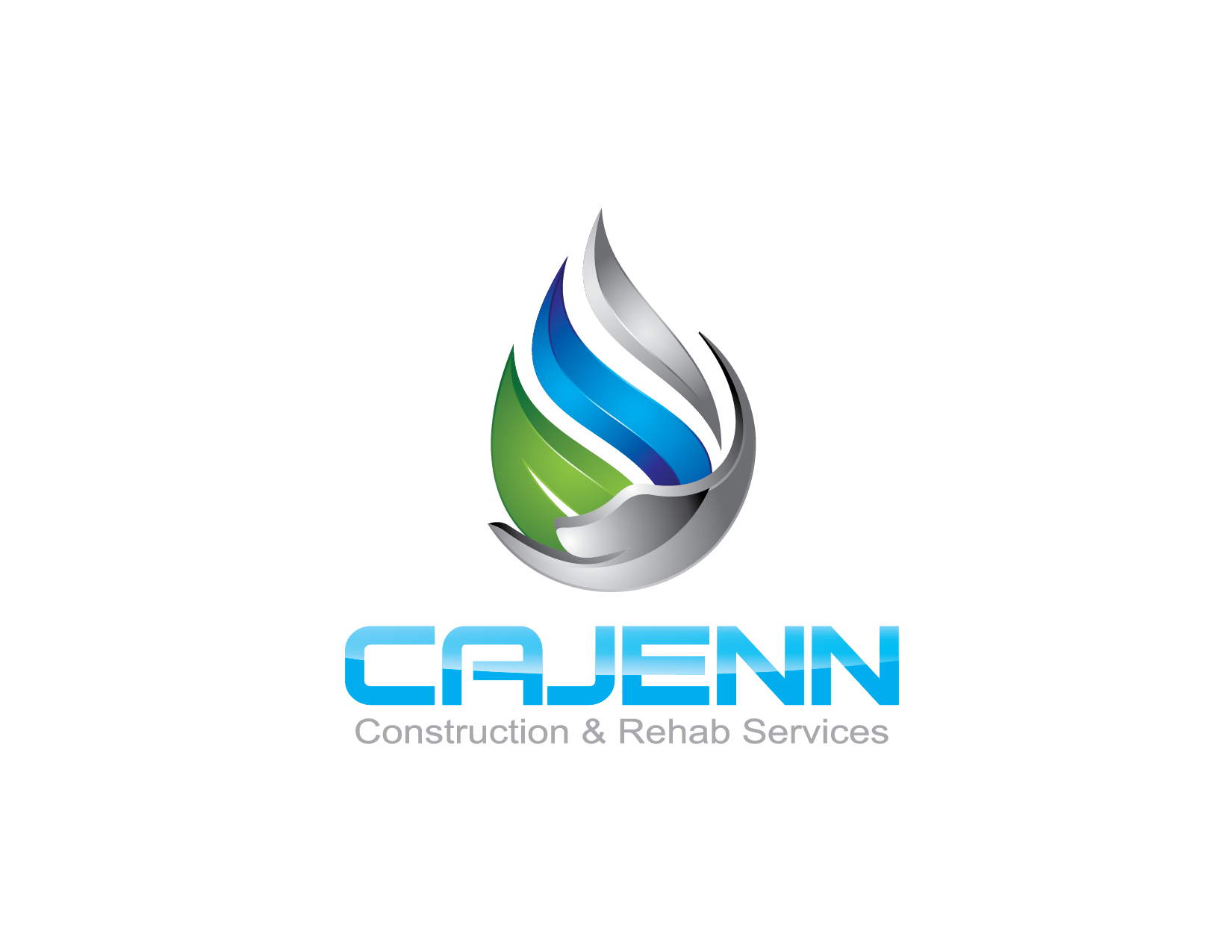 Logo Design by Yansen Yansen - Entry No. 218 in the Logo Design Contest New Logo Design for CaJenn Construction & Rehab Services.