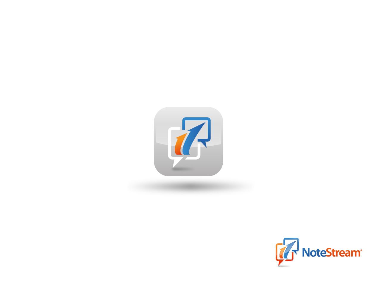 Logo Design by jpbituin - Entry No. 135 in the Logo Design Contest Imaginative Logo Design for NoteStream.