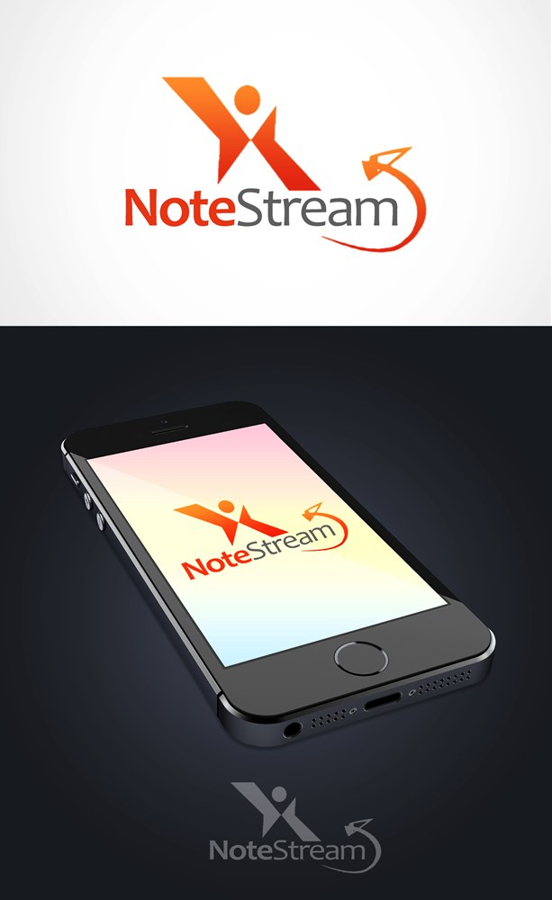 Logo Design by Respati Himawan - Entry No. 140 in the Logo Design Contest Imaginative Logo Design for NoteStream.