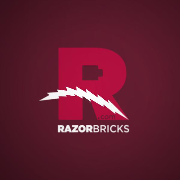 Logo Design by Private User - Entry No. 4 in the Logo Design Contest Unique Logo Design Wanted for razorbricks.com.