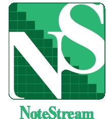 Logo Design by Chris Cowan - Entry No. 143 in the Logo Design Contest Imaginative Logo Design for NoteStream.