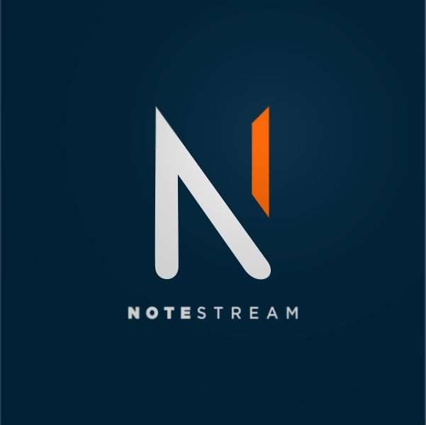 Logo Design by Private User - Entry No. 148 in the Logo Design Contest Imaginative Logo Design for NoteStream.