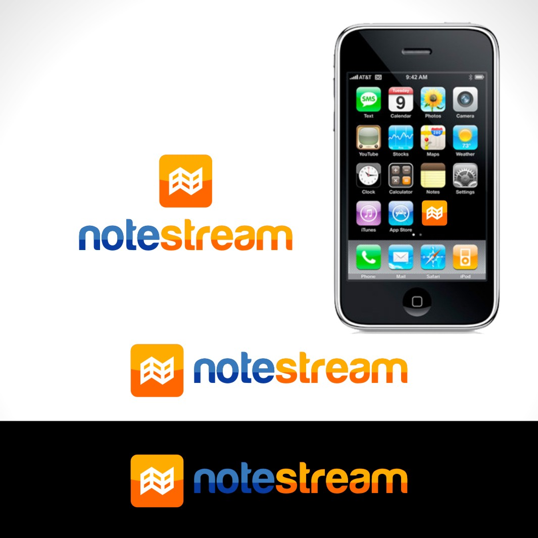 Logo Design by Private User - Entry No. 151 in the Logo Design Contest Imaginative Logo Design for NoteStream.