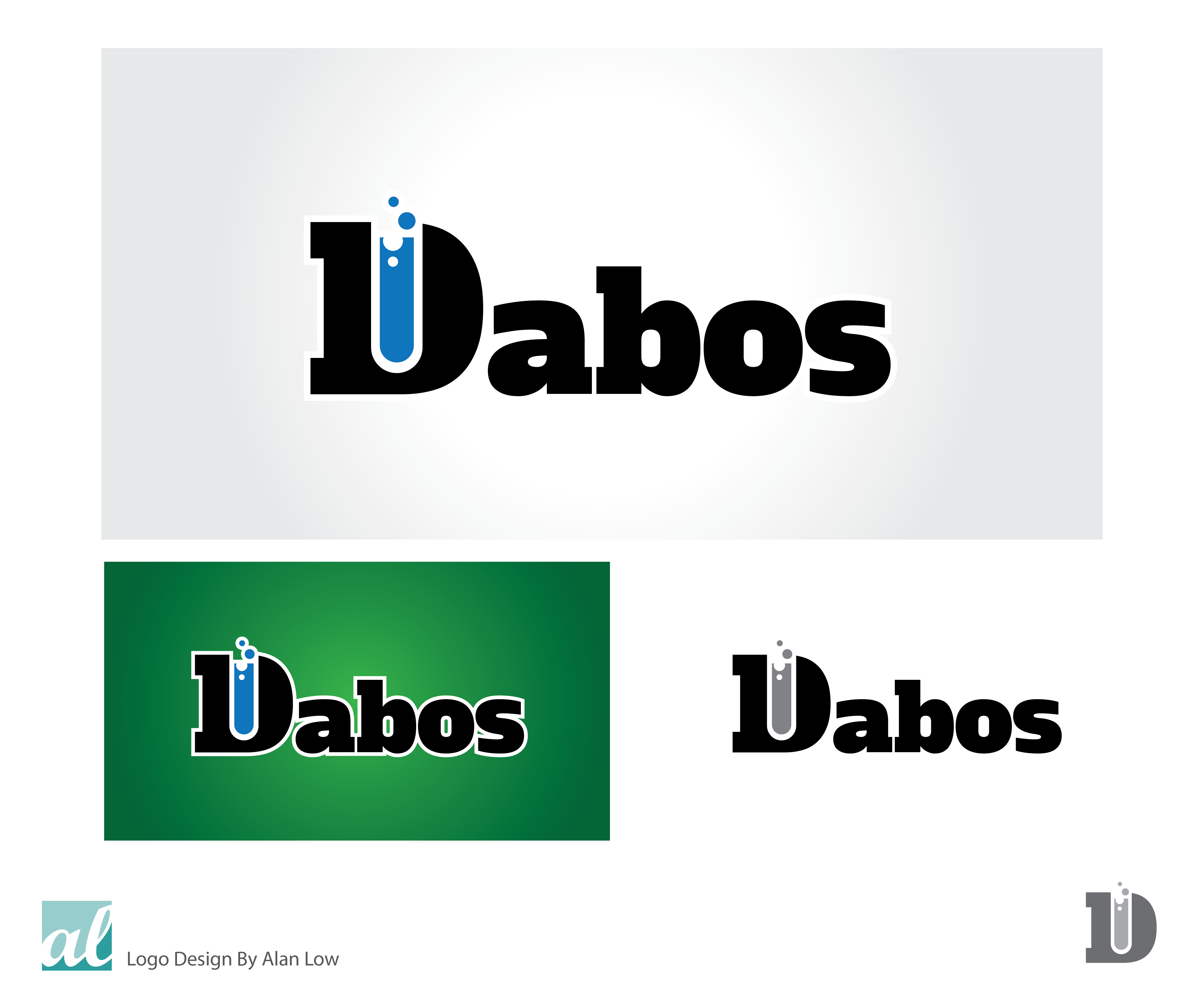 Logo Design by Alan Low - Entry No. 136 in the Logo Design Contest Imaginative Logo Design for DABOS, Limited Liability Company.