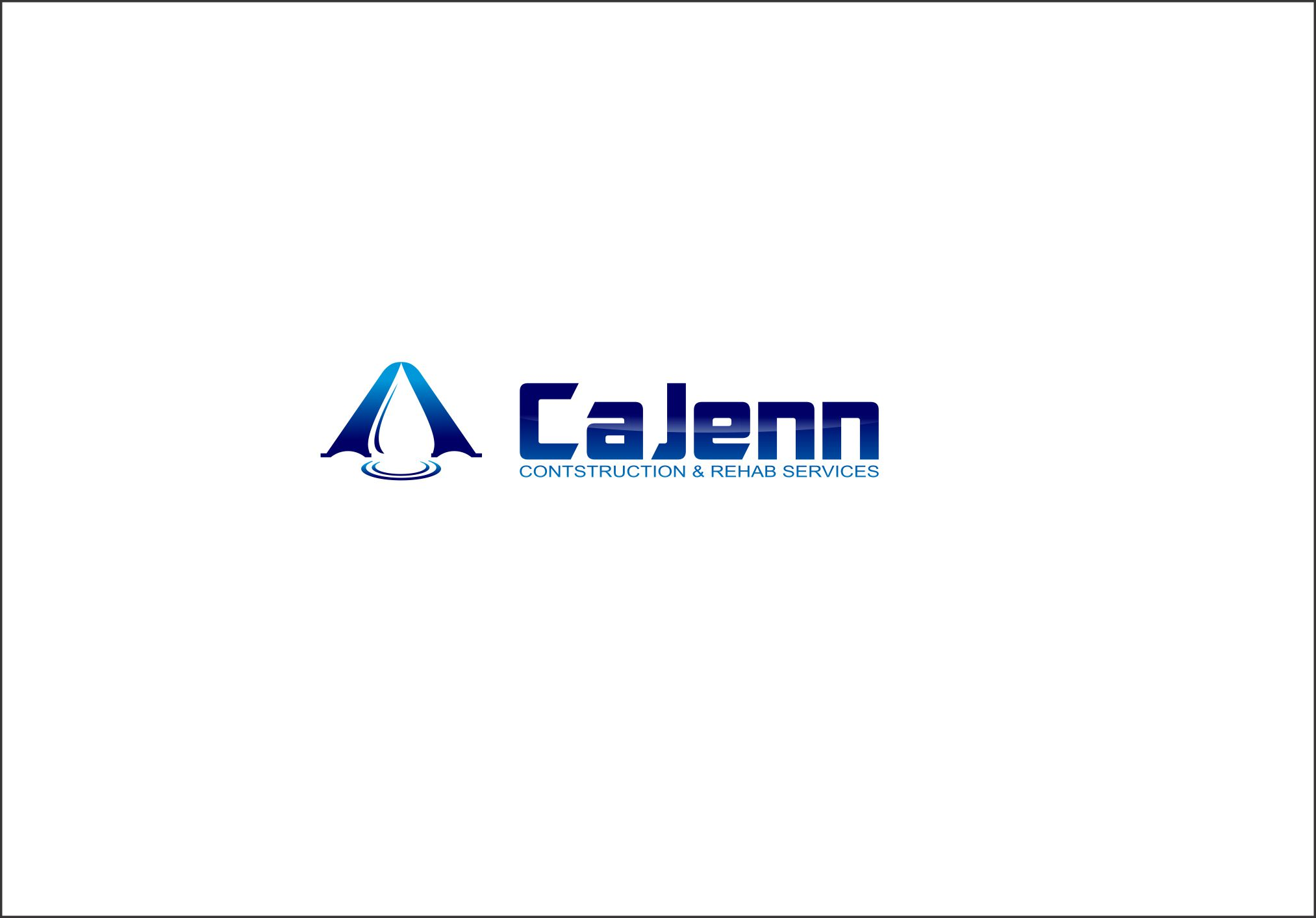 Logo Design by Agus Martoyo - Entry No. 220 in the Logo Design Contest New Logo Design for CaJenn Construction & Rehab Services.