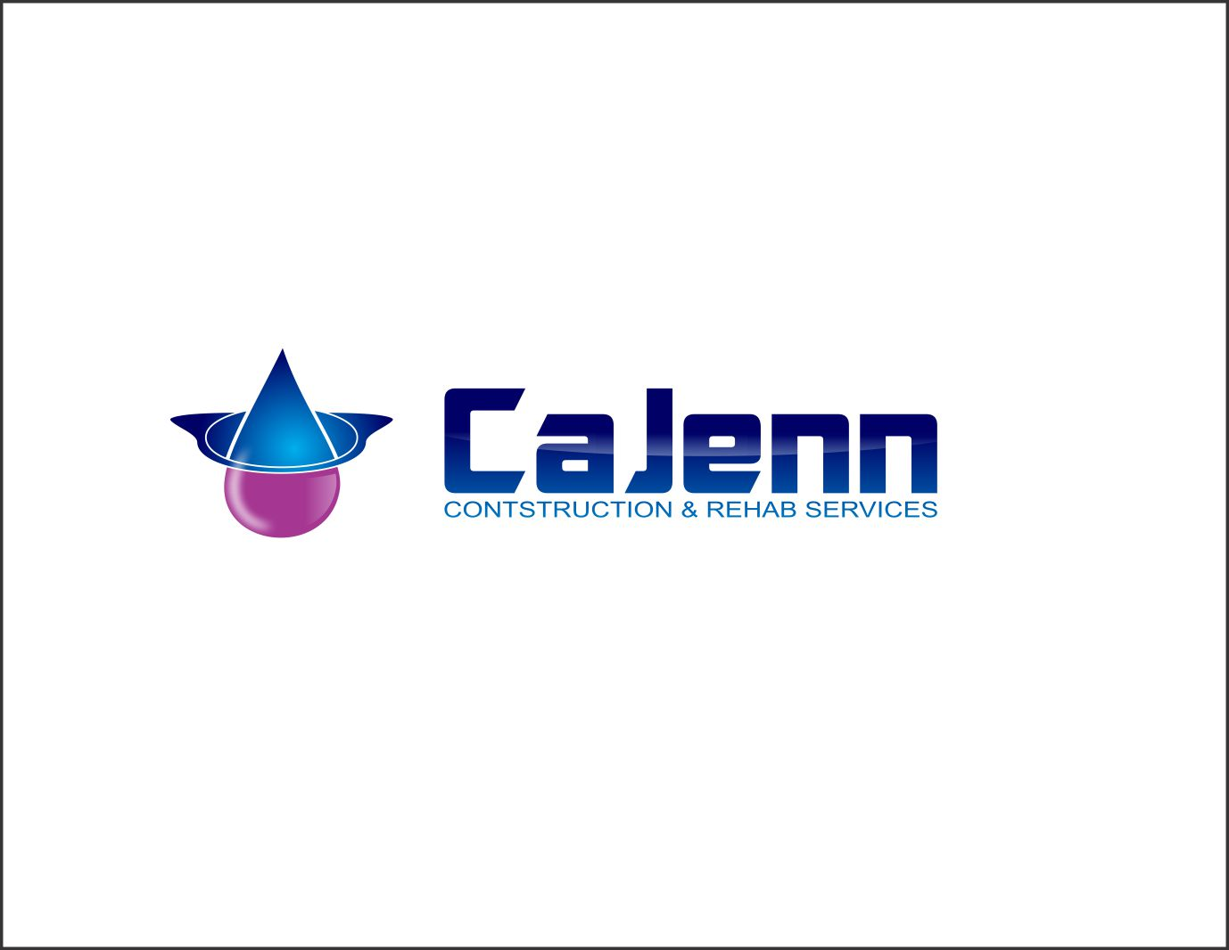 Logo Design by Agus Martoyo - Entry No. 222 in the Logo Design Contest New Logo Design for CaJenn Construction & Rehab Services.
