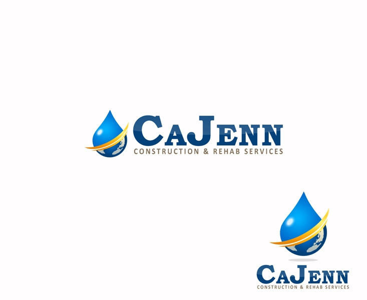 Logo Design by Juan_Kata - Entry No. 223 in the Logo Design Contest New Logo Design for CaJenn Construction & Rehab Services.